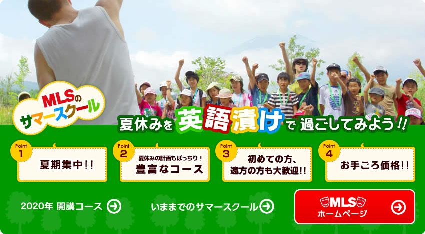 夏休み 英語 キャンプ